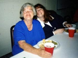 Mama and me.
