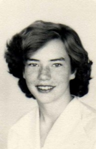 My mom, Lillie, in high school.