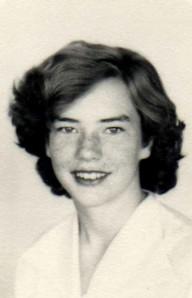 My mom, Lillie, in high school.