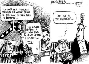 Cartoon by Mike Luckovich.