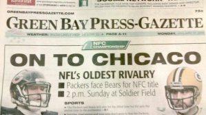 I love Chicag ... oh ... Green Bay Press-Gazette (Photo Credit: waplross.blogspot.com).