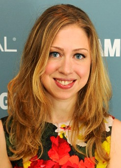 The new mom-to-be, Chelsea Clinton Mezvinsky.  Image by Dimitrios Kambouris/WireImage.com .