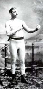 Compromise? The greater good? Them's fightin' words! Image of bare-knuckles fighter John L. Sullivan from Wikipedia.