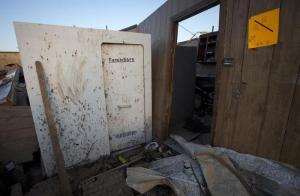 A family's safe room survived the Vilonia tornado. Image from Reuters.