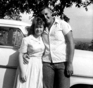 Daddy and Mama early in their marriage.