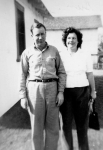 My favorite picture of my grandparents. I just love the way Nanny's looking at Grandpa.