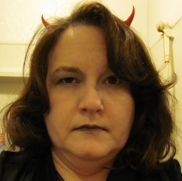 In my defense, my horns are only visible on Oct. 31.