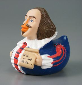 """Though thou canst swim like a duck, thou art made like a goose.""--William Shakespeare, The Tempest. Image from MuseumOfPlay.org."