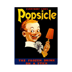 Creepy ad or not, not much is better on a hot day than popsicles and push-pops. Image from popsicle.com.
