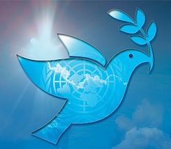 The 30th year of the International Day of Peace is Sept. 21, 2014. Image from Wikipedia.