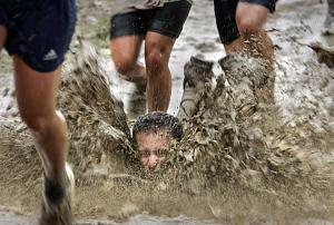 Sure, mud runs can be fun, but mudslinging isn't fun for those watching it. Image found on F3Nation.