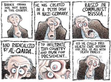 Cartoon by Nick Anderson, Houston Chronicle.