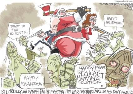 Editorial cartoon by Pat Bagley.