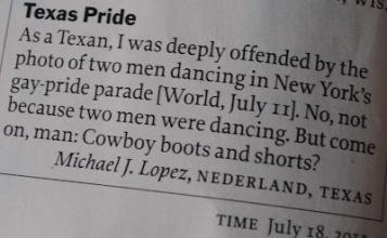 The fashion police wrote to Time Magazine! Image found on Joe.My.God.