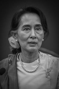 Aung San Suu Kyi is a prime example of what women are capable of.  Image from Wikimedia commons.