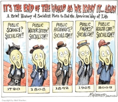 I knew it sounded familiar! Cartoon by Matt Wuerker, Politico.