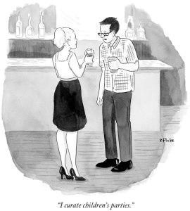 Cartoon from The New Yorker.
