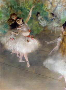 Dancers, by Edgar Degas.