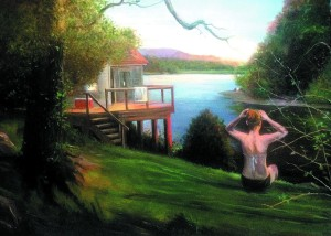 The Other Side of the Cove, by John Deering.