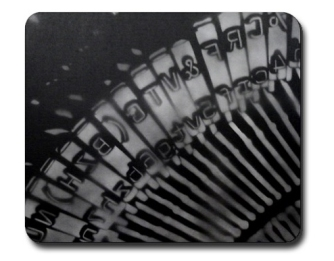 Type bar, by Ray Ferrer.