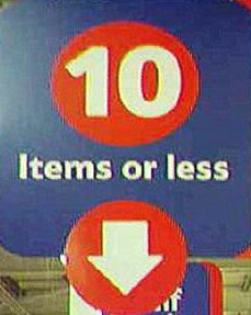 Some people get really snippy about signs like this. Image found on Grumpy Old Man blog.