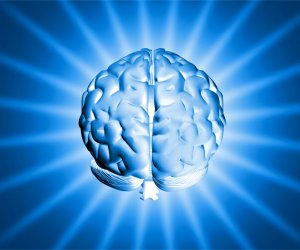 I'm fairly sure my brain does not nor ever did glow ... but I could be wrong. I do know I've never been able to blow up people with my mind. Image found on Success Creeations.