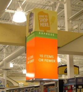 Publix changed its signs to make them grammatically correct. Image found on Grammar Glitch Central.