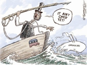 Editorial cartoon by Nick Anderson, Houston Chronicle.