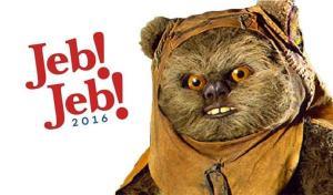 An AdWeek commenter's addition to the Jeb! fun.  Image found on AdWeek.