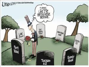 Editorial cartoon by Lisa Benson, Washington Post Writers Group.