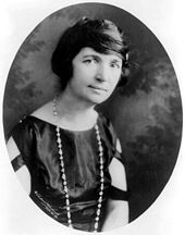 Margaret Sanger had controversial views, but she wasn't a fan of the Nazis or Ku Klux Klan ... and I'm fairly sure there's a lot of politicians she wouldn't be too crazy about either. Image found on Wikipedia.