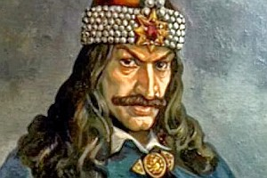 Oh, and Vlad's feeling a bit peckish, too ... Image found on Romania Travel.