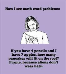 Makes perfect sense to me! Image found on The Mostly Confused Teenager.
