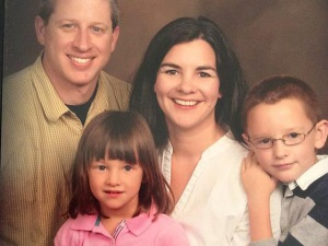 Garrett Swasey and his family. Image found on TheDenverChannel.