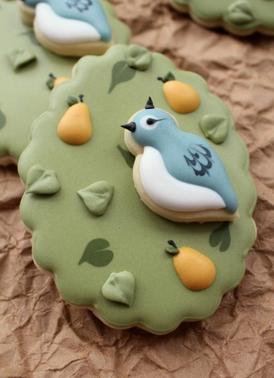 This is the kind of partridge in a pear tree I'd like. Image found on The Sweet Adventures of Sugarbelle.