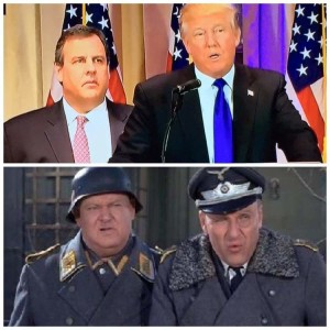Werner Klemperer might have to come back from the grave to haunt whoever came up with this comparison. Image found on Reddit.