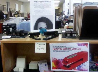 Presenting ... the Museum of Staplers (not sponsored by Swingline).
