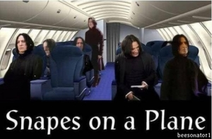 Now, THIS movie I'd see! (Rest in peace, Alan Rickman.) Image found on Tickld.