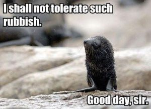 The seal speaks for me. Image found on ThumbPress.