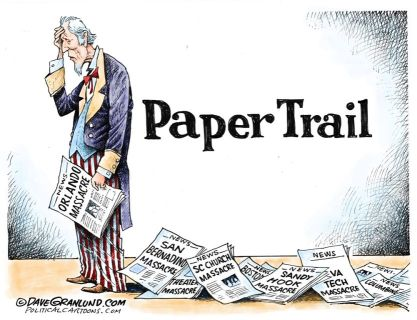 Editorial cartoon by Dave Granlund.