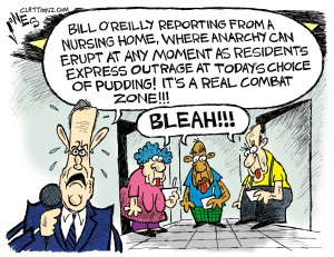 If it's tapioca, I can't blame them at all. Editorial cartoon by Clay Jones, Claytoonz.com.