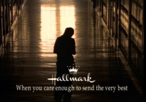 I pretty much can't watch a Hallmark commercial without bawling ... Image found on RazorReport.
