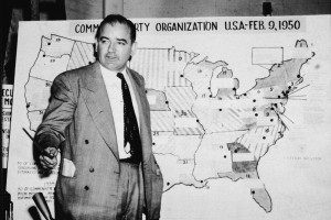 No, he had no sense of decency ... and neither do other demagogues. Image of Joe McCarthy from Hulton Archive/Getty Images found on New Republic.