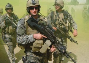 Elite forces such as the Navy SEALs help keep us safe. Many, such as Navy SEAL Petty Officer 2nd Class Michael Monsoor, a Medal of Honor recipient, gave their lives. Image found on Wikimedia Commons.