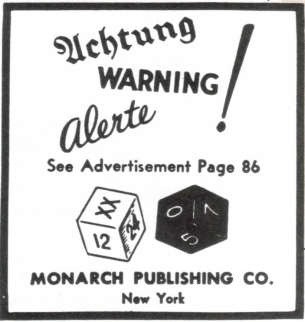 This is one I remember from a high school history class; the dice in the ad that appeared in The New Yorker a few weeks before Pearl Harbor were believed (after the fact, of course) to indicate the time and date of the attack. But no, it was just a dice game being advertised. Image found on Unexplained Mysteries.