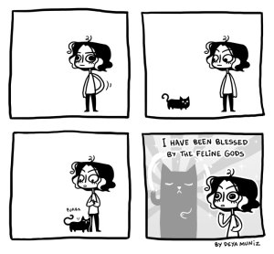 Pretty much my life. Comic by Daya Munez.
