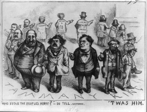 Weren't me ... Editorial cartoon by Thomas Nast found on BuzzFeed.