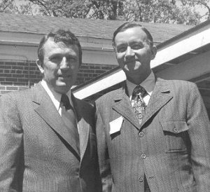 Two men I greatly respect, both now sadly gone. Bumpers, a Democrat, and Hammerschmidt, a Republican, weren't afraid to compromise for the best outcome for the most people. Image found on Pryor Center.
